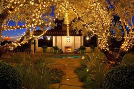 backyard party light outdoor