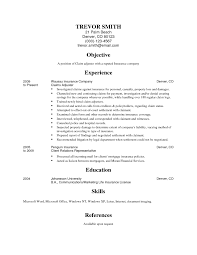 Insurance Appraiser Resume Examples Property Claims Adjuster Resume