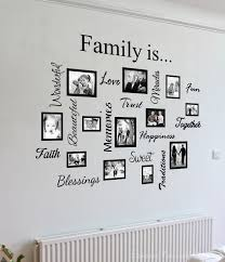 Family quote & picture frame gallery