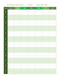 blank work schedule free work schedule templates for word and excel