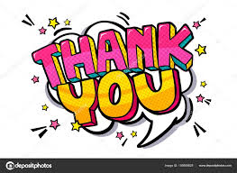 Word Thank You Thank You Word Bubble Stock Vector Vectorstory 159809828