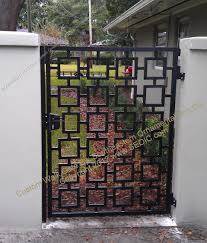 custom ornamental walk gate wg 32