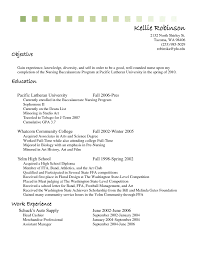 Pre Nursing Student Resume Examples Best Of Example Resume Cashier