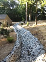 drainage ditch drainage ditch landscaping ideas system home design installing