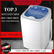 Máy giặt mini bán tự động, Dung tích 7L giặt nhanh sạch không tốn điện  nước. BẢO HÀNH 2 NĂM giá rẻ 1.315.000₫