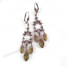 leaf chandelier