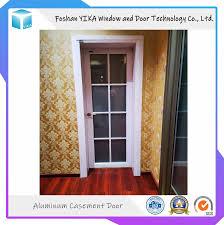 Door Vinyl Design Hot Item Pvc Vinyl Double Double Glazing Casement Door With Iron Grill Design