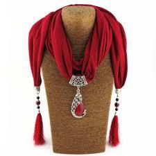 women scarf pendant