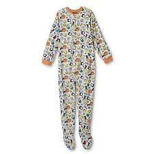 gray boys pajamas kmart joe boxer boys footed sleeper pajamas emoji