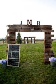 wood wedding arch plans ana white rustic wedding arch diy
