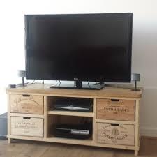 wine crate furniture. tv stand wine crate furniture