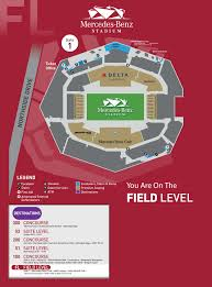 Stadium Maps Mercedes Benz Stadium