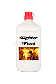 charcoal lighter fluid royalty free stock photography image 24536317