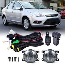 popular ford fog light wiring kit buy cheap ford fog light wiring new wiring harness sockets switch 2 fog lights h11 lamp 12v 55w kit for