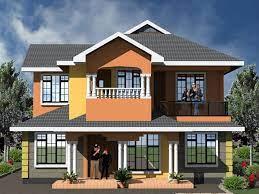 4 bedroom maisonette modern house plans