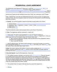 For a room rental agreement that includes sections for household rules, conflict resolution, and privacy, this template from tidyform has you covered. Free Rental Lease Agreement Templates Pdf Word