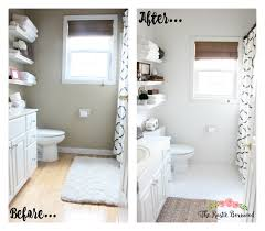 white quick bathroom makeover simple  images about bath on pinterest painted concrete floors marbles and fa