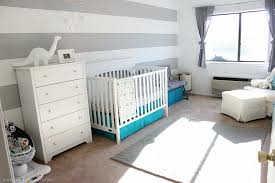 Landon S Grey And White Nursery Project