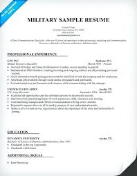 Resume Services Dc Military Resume Sample Could Be Helpful When Classy Military Resume Writing