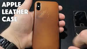 Как стареет оригинальный <b>кожаный чехол Apple</b> на iPhone X ...
