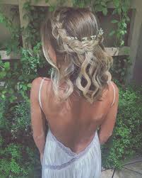 Short Prom Hairstyles 87 Wonderful Braided Crown With Baby's Breath Flowers R Pinterest Braid