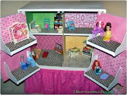 homemade barbie furniture. DIY Dollhouse From Repurposed Furniture Homemade Barbie D