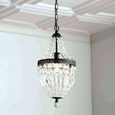 mini bronze chandeliers crystal