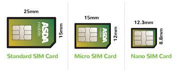 Standard sim, micro sim and nano sim. What Sim Card Do You Need Nano Micro Or Standard Device Guide