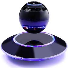 speakers. music angel jh-fd19 floating levitating portable wireless bluetooth speakers with microphone for iphone and