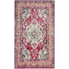 modern grey pink area rug gray blush reviews furniture marvellous good looking