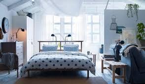 View in gallery polka dot neutral ikea bedroom