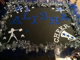 Cheer Poster We Made This By Hand And Cricket Lol
