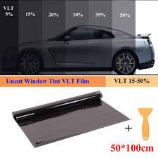 Amazon Com Roll 15 50 Vlt Black Car Home Glass Window Tint