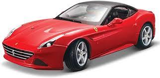 Bburago 16003r Modellauto 1 18 Ferrari California T Farblich Sortiert Amazon De Spielzeug