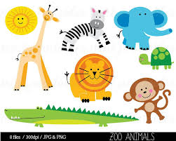 zoo animal clipart cute. Interesting Zoo Animals Free Large Images Askartelu Pinterest Animal Clipart Zoo On Zoo Clipart Cute T