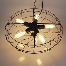 industrial chandelier ceiling fan light kits novel foyer ceiling fixture in black