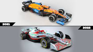 ANALYSIS: Comparing the key differences between the 2021 and 2022 F1 car  designs