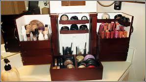 makeup organizer wood. cosmetic organizer countertop drawers home design ideas makeup wood c
