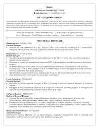 Restaurant Manager Resume Restaurant Manager Resume Restaurant Bar ...