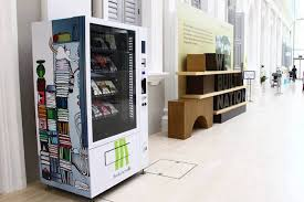Book Vending Machine For Sale Inspiration Singapore Is Installing Vending Machines With Books To Encourage