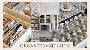 Organizing Kitchen Organized Kitchen Tour How To Organize Your Kitchen Youtube