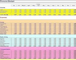 Monthly Expenses Spreadsheet Budgeting Spreadsheet Template Excel Monthly Budget Spreadsheet Free
