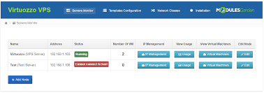 virtuozzo virtuozzo vps for whmcs whmcs marketplace