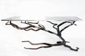 glasetal coffee table forged sofa blacksmiths il full