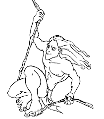 Small Picture Tarzan Coloring Pages GetColoringPagescom