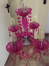 Kronleuchter Pink