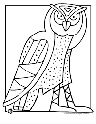 Small Picture Owl Coloring Picture Coloring Home