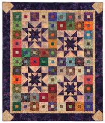210 best Quilting with Precuts images on Pinterest | Patterns, DIY ... & Purple Daze quilt from Quilt Batik! Adamdwight.com