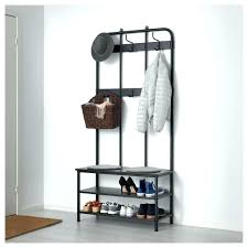 Shoe Coat Hat Racks Fascinating Shoe Rack Ikea Hat Rack Amazing Coat Rack With Shoe Storage Bench