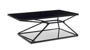 console table modern black accent